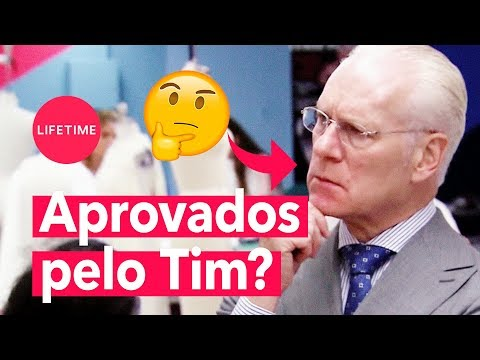 Tim Gunn analisa os looks de dia e noite dos estilistas | PROJECT RUNWAY | LIFETIME